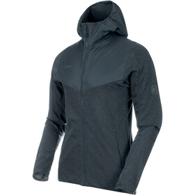 Mammut Alvra ML Hooded Jacket Men storm melange-storm